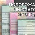 Подорожает ли ОСАГО в 2018 году